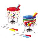 Набір для фондю Kamille Rainbow 6 предметів