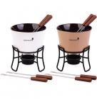 Набор для фондю Kamille Chocolate 6 предметов