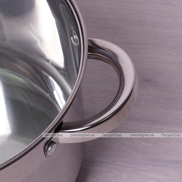 Кастрюля Kamille Mystery 4.5л со стеклянной крышкой