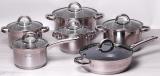 Набір кухонного посуду Kamille Mystery 12 предметів