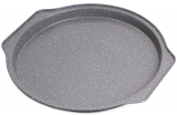 Форма-деко для випічки піци Kamille Bakery Marble 35х33.5х2.5см