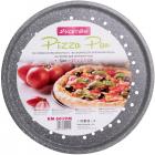 Форма для выпечки пиццы Kamille Bakery Marble Ø33см перфорированная