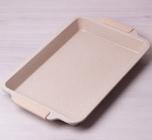 Форма-противень Kamille Marble 46х29.5х4.5см с силиконовыми ручками
