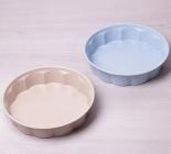 Форма Kamille Marble для выпечки Ø27.5х6см с рельефными бортами