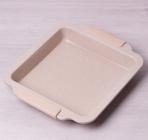 Форма для выпечки Kamille Marble 30.5х27х4.5см с силиконовыми ручками