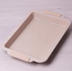 Форма для випічки Kamille Marble 40.5х27х4.5см з силіконовими ручками