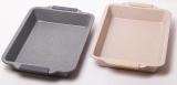 Форма для выпечки Kamille Marble 40.5х27х6см силиконовыми ручками
