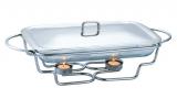 Мармит Kamille Food Warmer прямоугольное блюдо 2л 46х22см с подогревом
