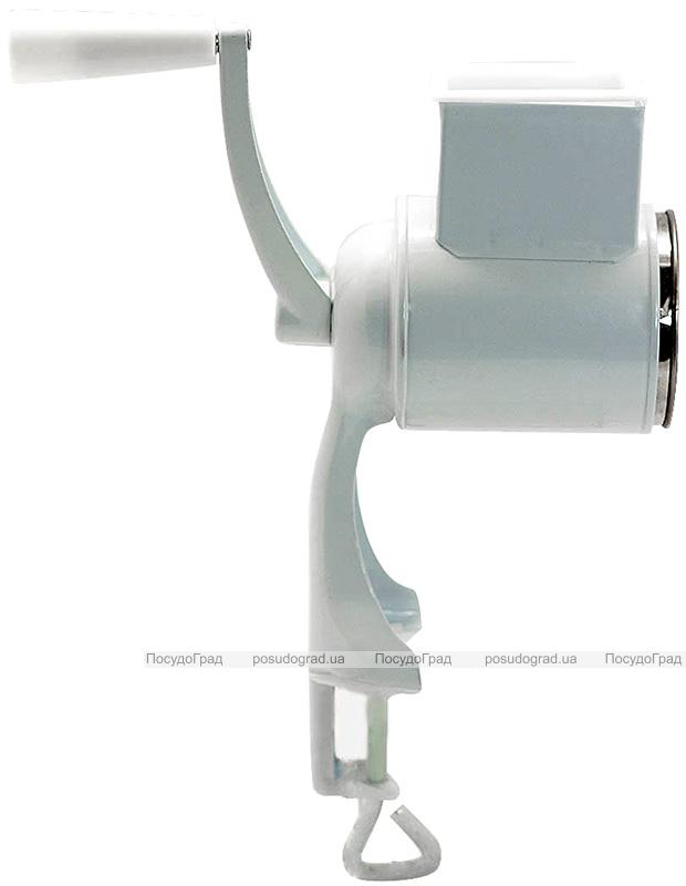 Терка универсальная Kamille механическая ручная с 4-мя насадками