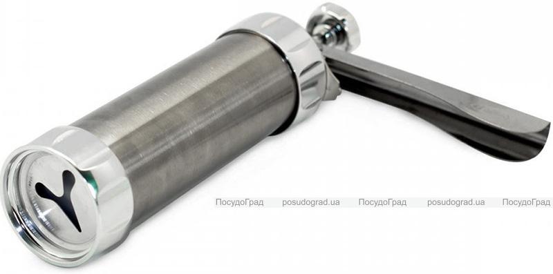 Пістолет-шприц кондитерський Kamille 16 насадок з нержавіючої сталі