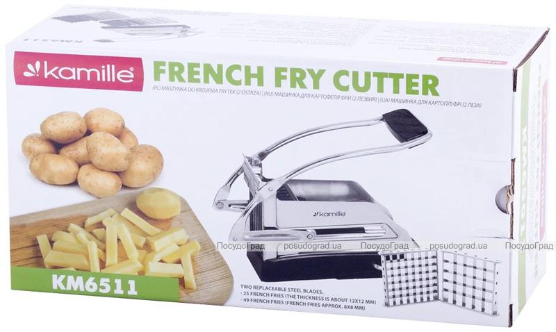 Картоплерізка (подрібнювач) Kamille French Fries для нарізки картоплі фрі