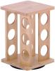 Набір для спецій Kamille Mirele 12 ємностей на бамбуковій підставці