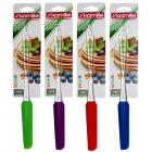Лопатка кулинарная силиконовая Kamille 7503 цветная узкая