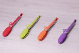 Щипцы Kamille Delight 23см силиконовые с металлической ручкой