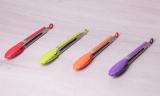 Щипці Kamille Petal 23см нейлонові з металевою ручкою