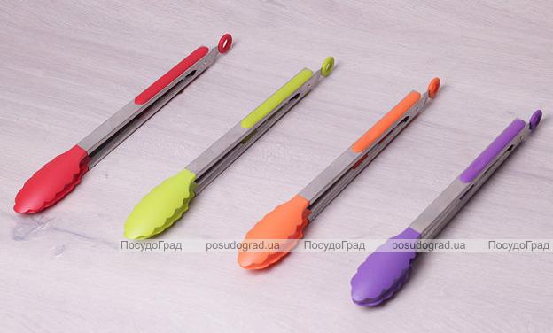 Щипцы Kamille Petal 30.5см нейлоновые с металлической ручкой