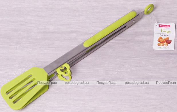Щипцы-лопатка Kamille Petal 30.5см нейлоновые с металлической ручкой