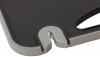 Подставка-колода Kamille Kumamoto для ножей 21х12х22см, двойная с разделочной доской