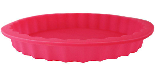 Форма Kamille Pie силіконова для пирогів кругла 23х3см