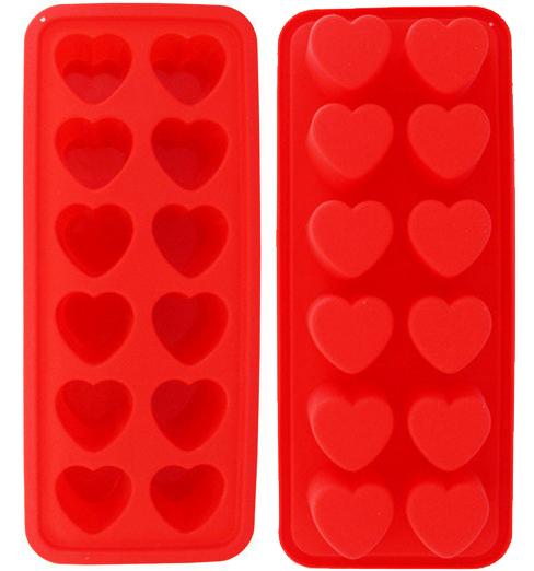 Форма силиконовая Kamille Amur для льда и конфет 22.5х9.5х2см 12 ячеек