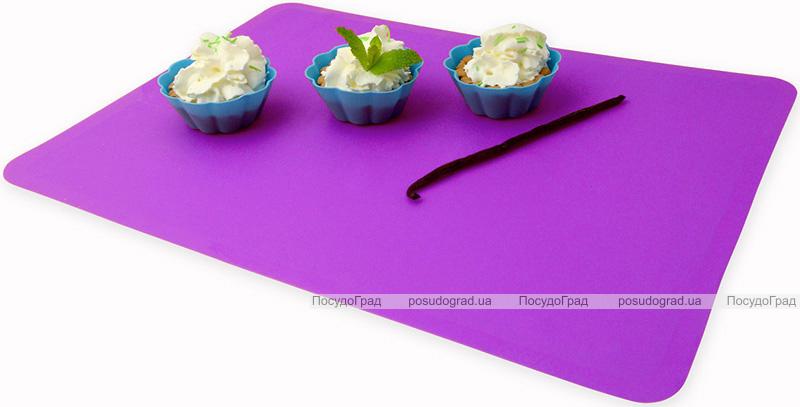 Коврик силиконовый Kamille Vincennes 40х30см для раскатки теста и выпечки