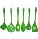 Кухонный набор Kamille 6 предметов, пластик + силикон