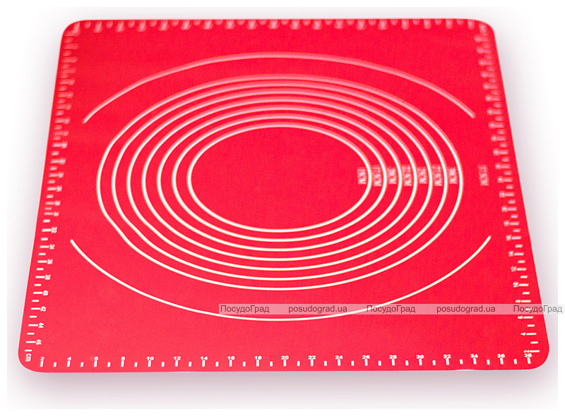 Килимок силіконовий Kamille Vincennes 49х39см з розміткою для розкачування тіста і випічки