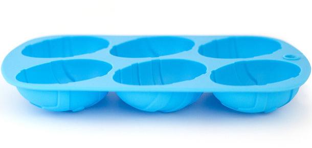 """Форма для випічки Kamille """"Великодні яйця"""" силіконова 21х13х2.5см"""