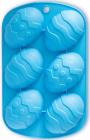 "Форма для выпечки Kamille ""Пасхальные яйца"" силиконовая 21х13х2.5см"