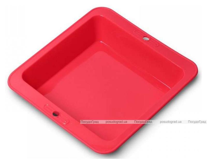 Форма Kamille силиконовая для выпечки, квадратная 26.1х24.5х6см