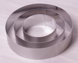 Набор 3 круглые формы Kamille для выкладки гарнира Ø10см, Ø15см, Ø20см