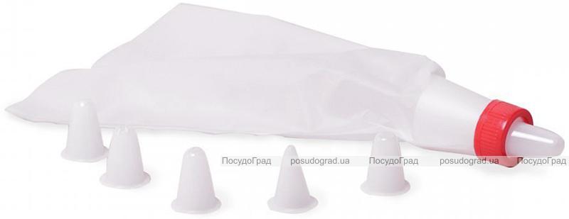 Кондитерський мішок Kamille з 6 пластиковими насадками