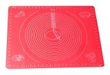 Коврик силиконовый Kamille Vincennes 50х40см с разметкой для раскатки теста и выпечки