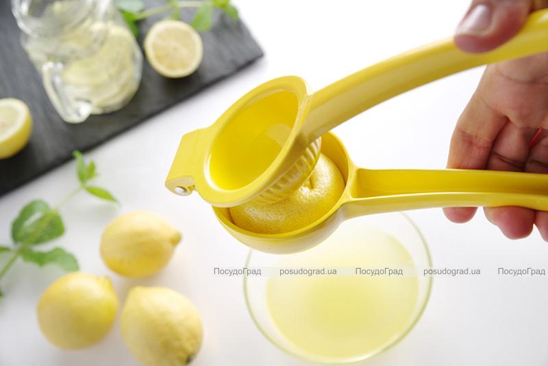 Пресс для цитрусовых Kamille Citrus пластиковый 22х7.4х5см, соковыжималка
