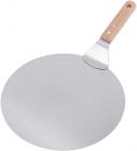 Підставка-лопатка Kamille лопатка для піци Ø30.5см з нержавіючої сталі