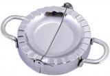 Форма для ліплення вареників Kamille 15х10х3.1см з нержавіючої сталі