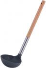 Ополоник Kamille Chantal 31см нейлоновий з дерев'яною ручкою