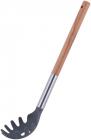 Ложка для спагеті Kamille Chantal 31см нейлонова з дерев'яною ручкою