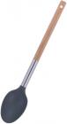 Ложка кухарська Kamille Chantal 34см нейлонова з дерев'яною ручкою