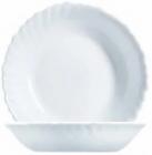 Набір 8 низьких салатників Luminarc Feston Ø18см, склокераміка