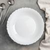 Набір 6 супових тарілок Luminarc Feston Ø23см, склокераміка