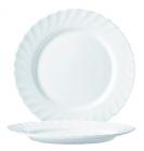 Десертная тарелка Luminarc Trianon White Ø19см, стеклокерамическая