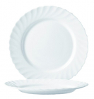Десертная тарелка Luminarc Trianon White Ø19.5см, стеклокерамическая