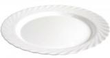 Набір 6 овальних блюд Luminarc Trianon White 35см
