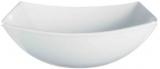 Набір 6 квадратних салатників Luminarc Quadrato White 24см, склокераміка