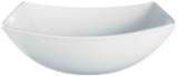 Набор 6 квадратных салатников Luminarc Quadrato White 24см, стеклокерамика