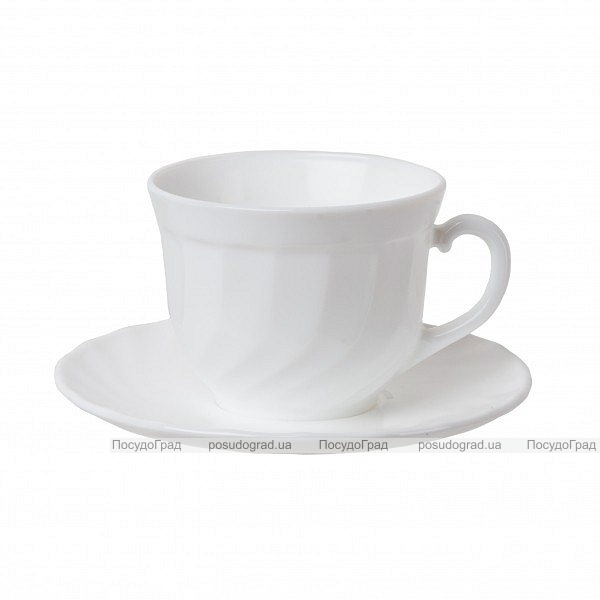 Набор чашек для кофе Luminarc Trianon White 90мл на 6 персон
