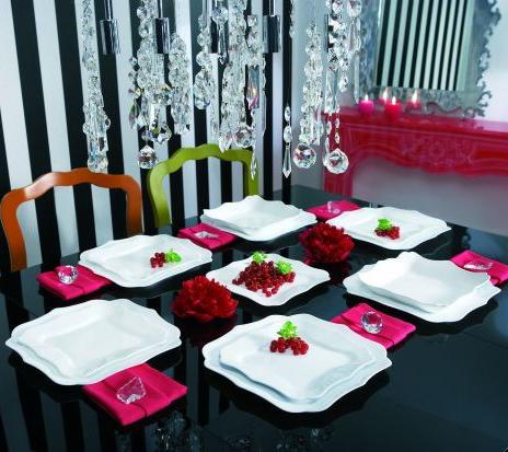Столовый сервиз Luminarc Authentic White на 6 персон 19 предметов