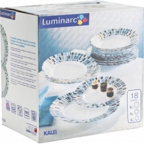 Столовый сервиз Luminarc Kalei на 6 персон 18 предметов