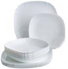 Столовый сервиз Luminarc Lotusia White на 6 персон 18 предметов